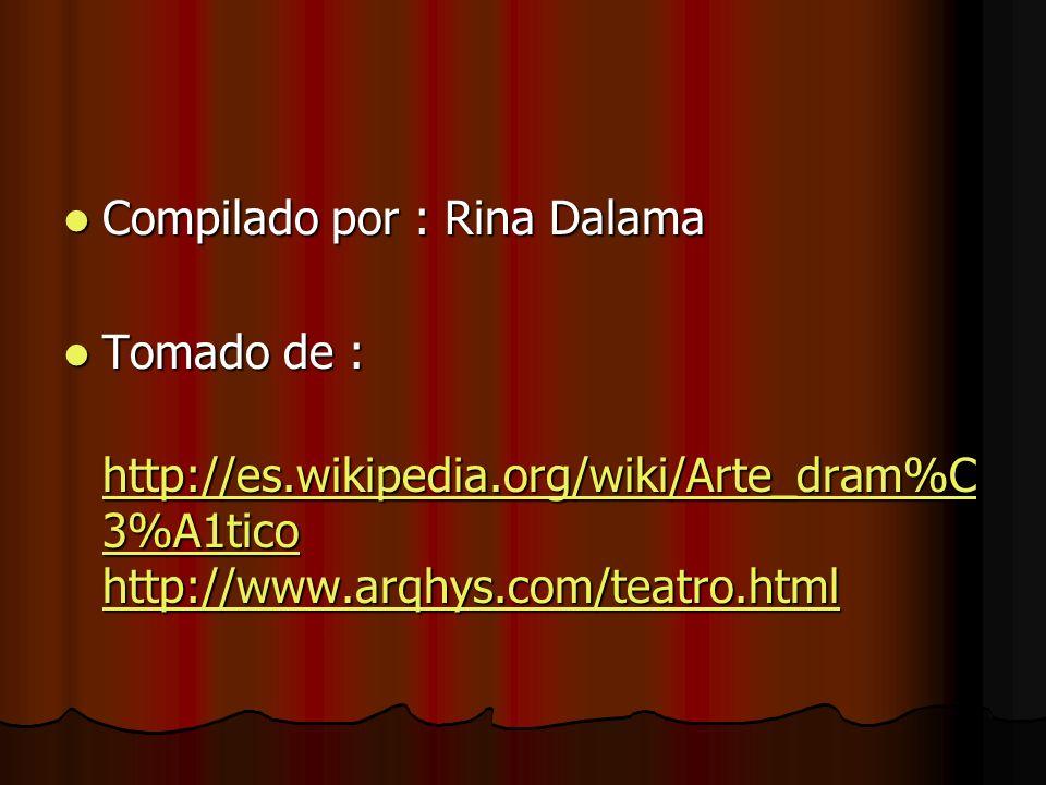 Compilado por : Rina Dalama