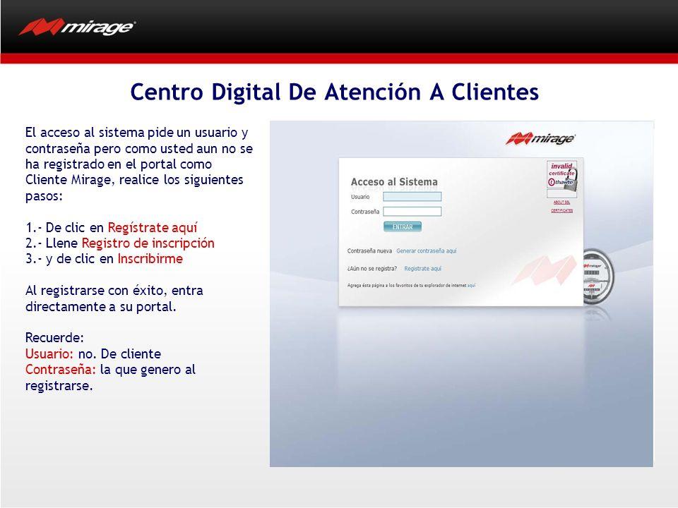 Centro Digital De Atención A Clientes