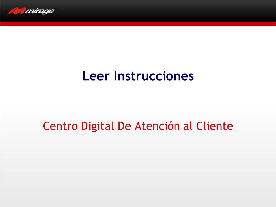 Centro Digital De Atención al Cliente