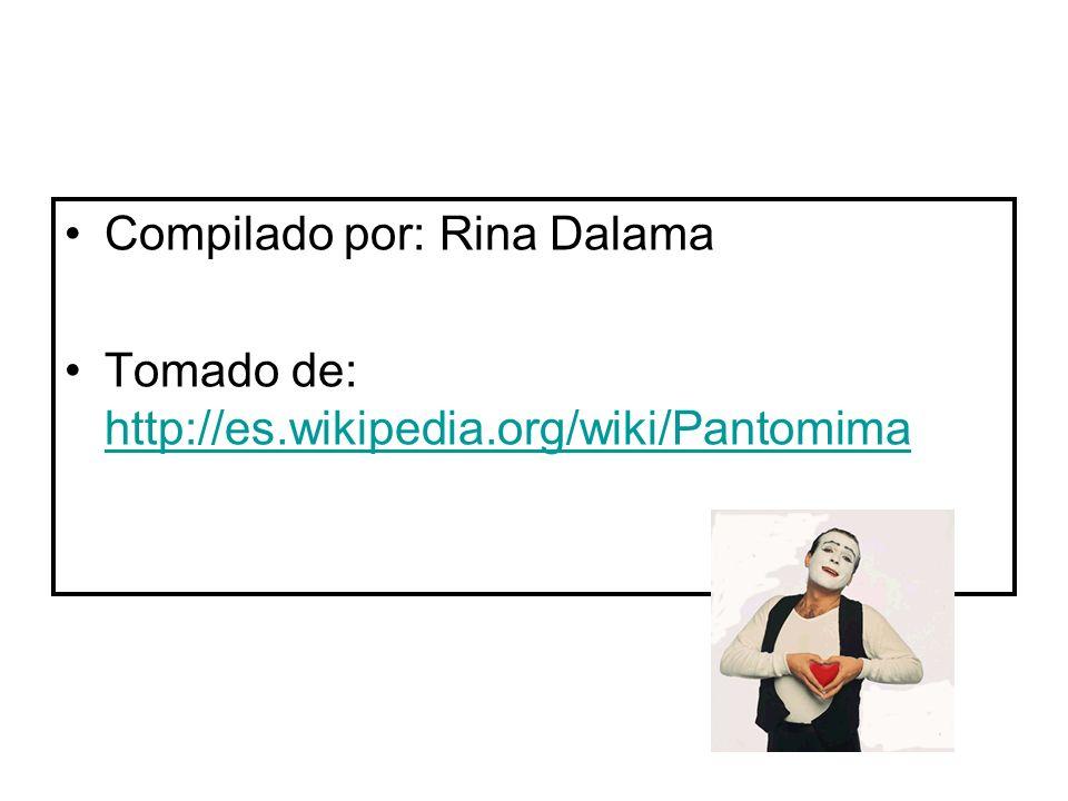 Compilado por: Rina Dalama