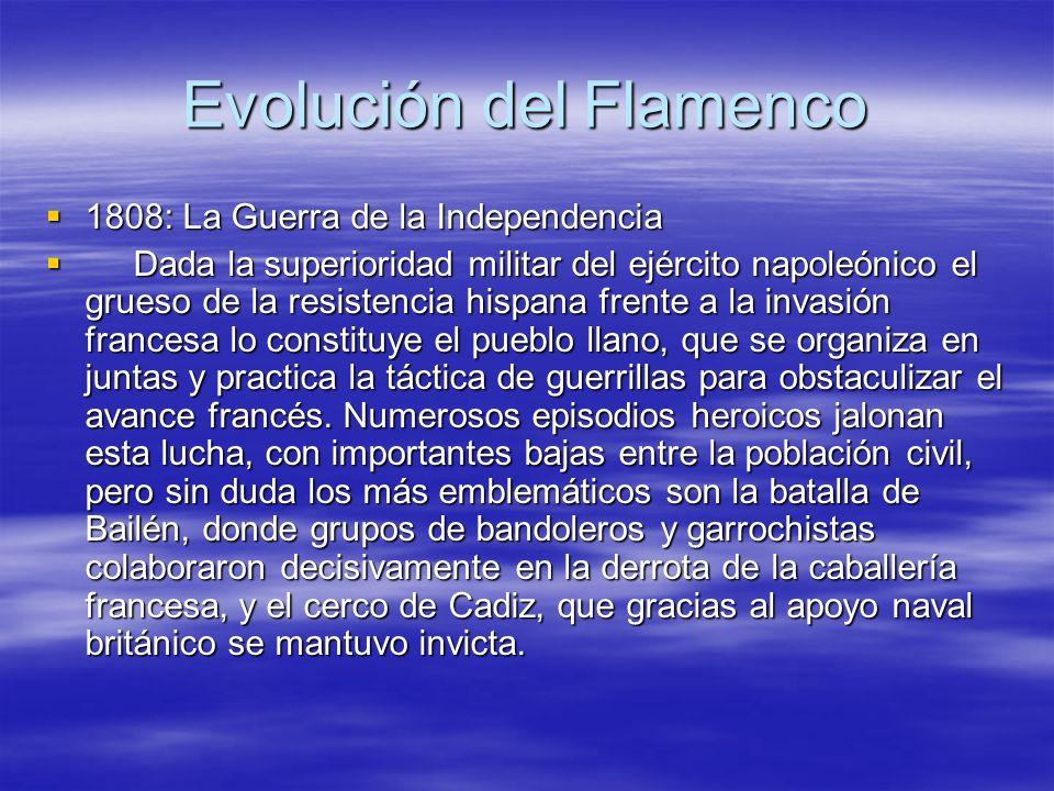 Evolución del Flamenco