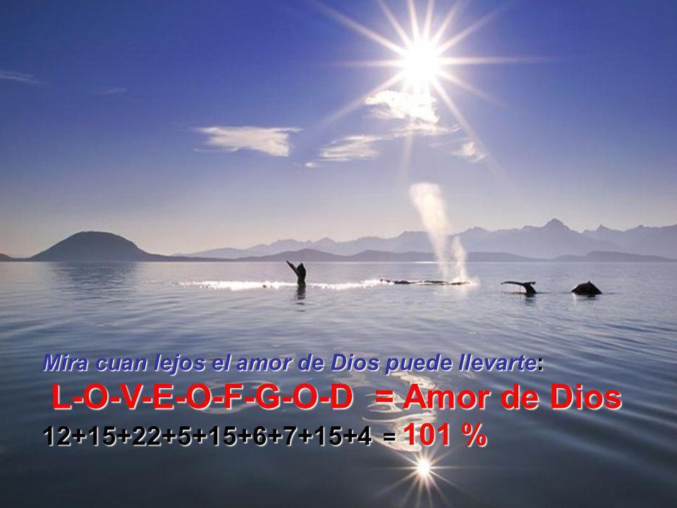 L-O-V-E-O-F-G-O-D = Amor de Dios
