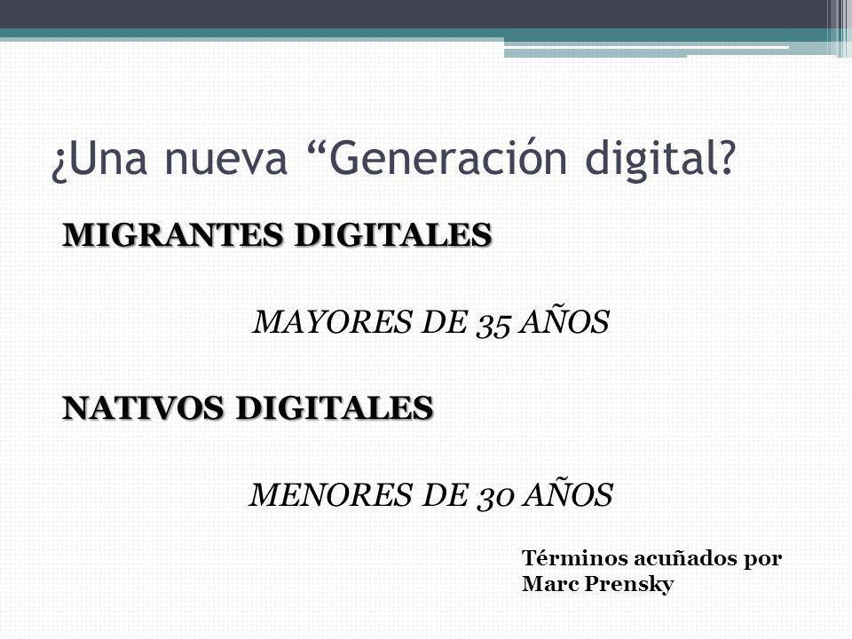 ¿Una nueva Generación digital