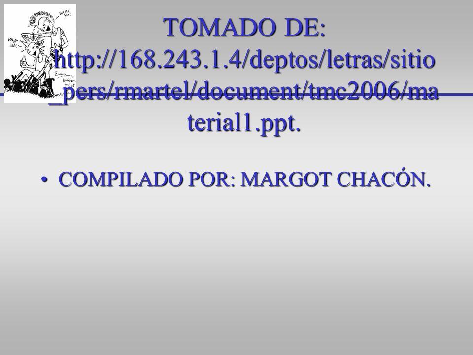 TOMADO DE: http://168.243.1.4/deptos/letras/sitio_pers/rmartel/document/tmc2006/material1.ppt.