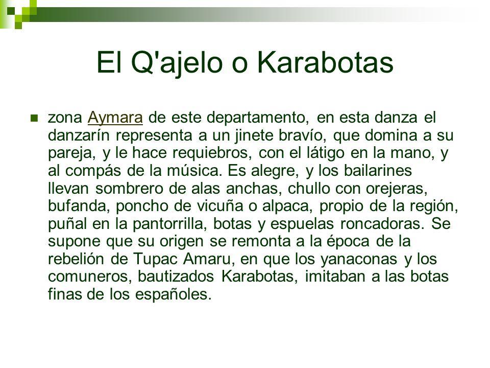 El Q ajelo o Karabotas