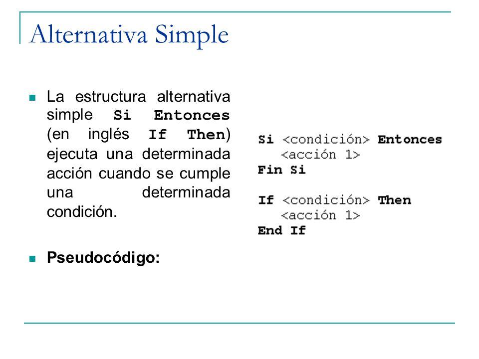 Alternativa Simple
