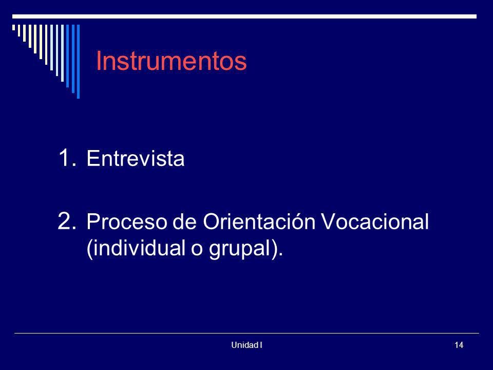 Instrumentos Entrevista