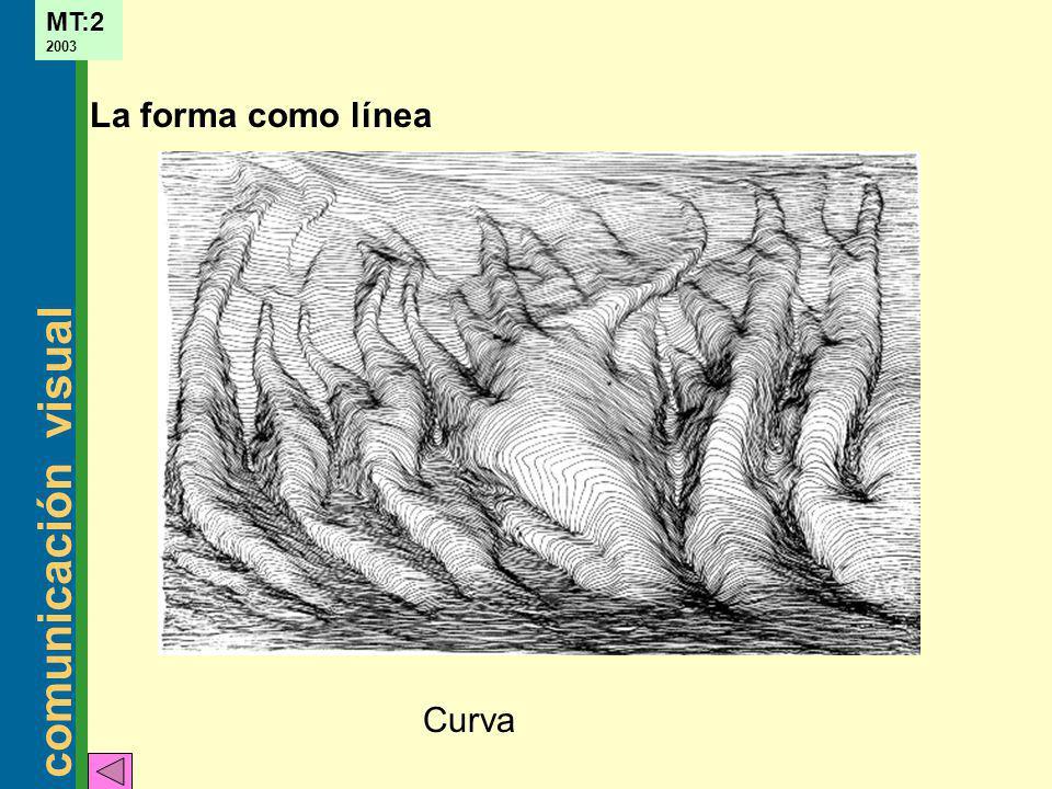 La forma como línea Curva