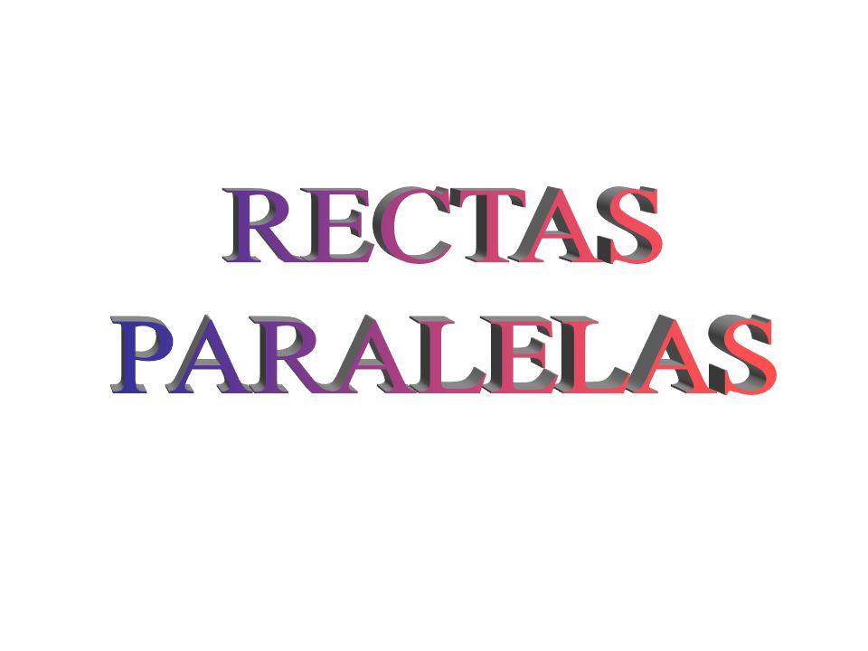 RECTAS PARALELAS