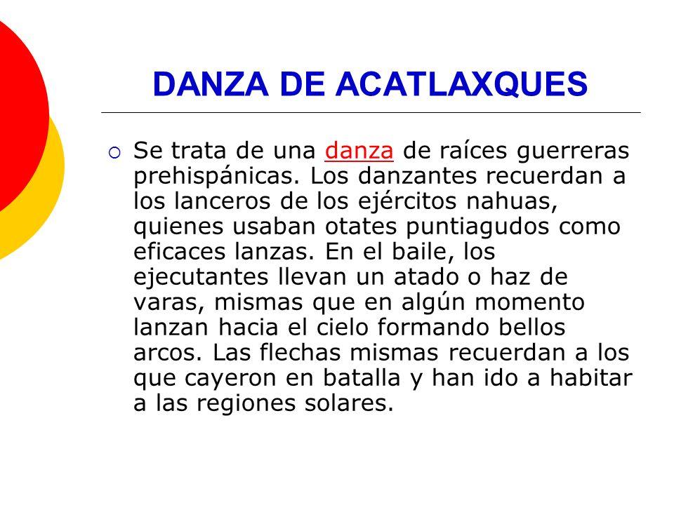 DANZA DE ACATLAXQUES