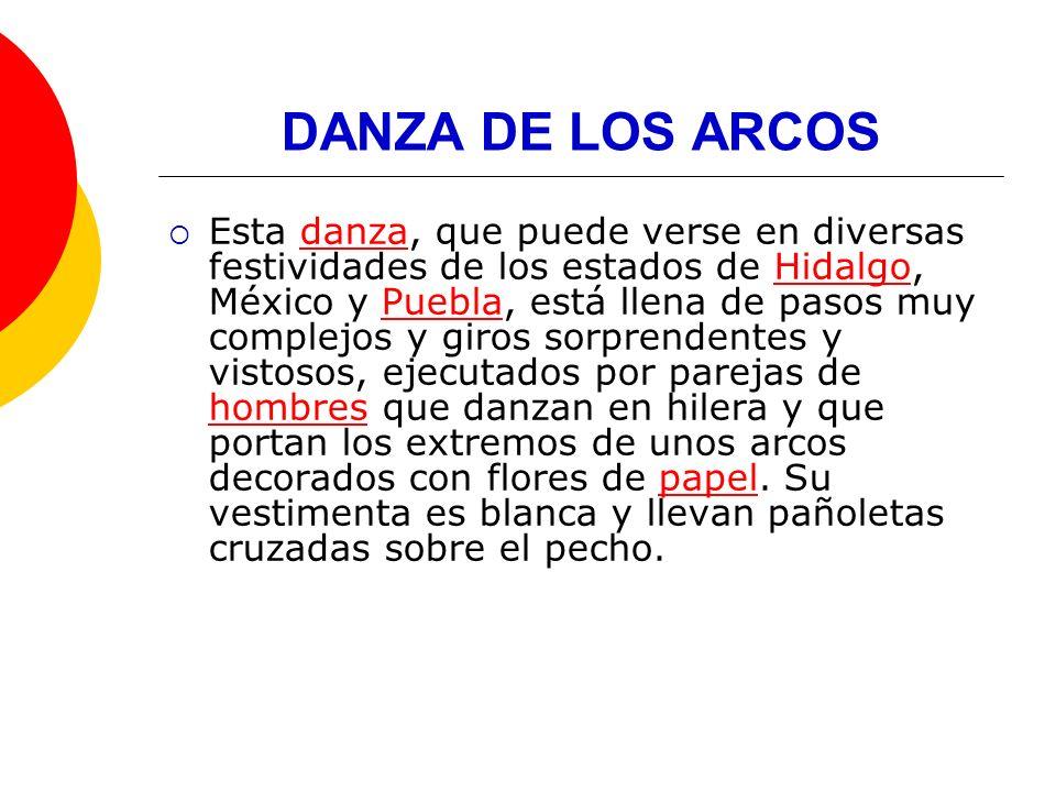 DANZA DE LOS ARCOS