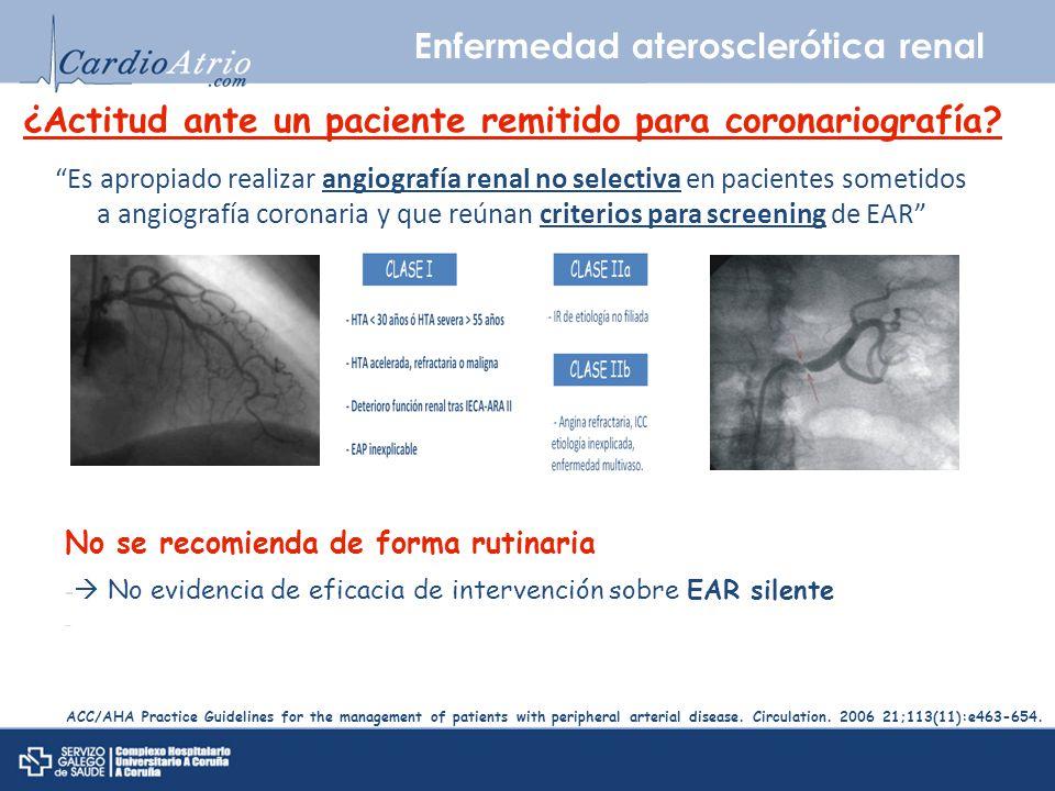 Enfermedad aterosclerótica renal