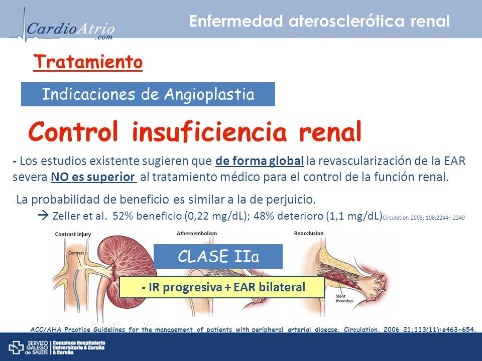 Control insuficiencia renal