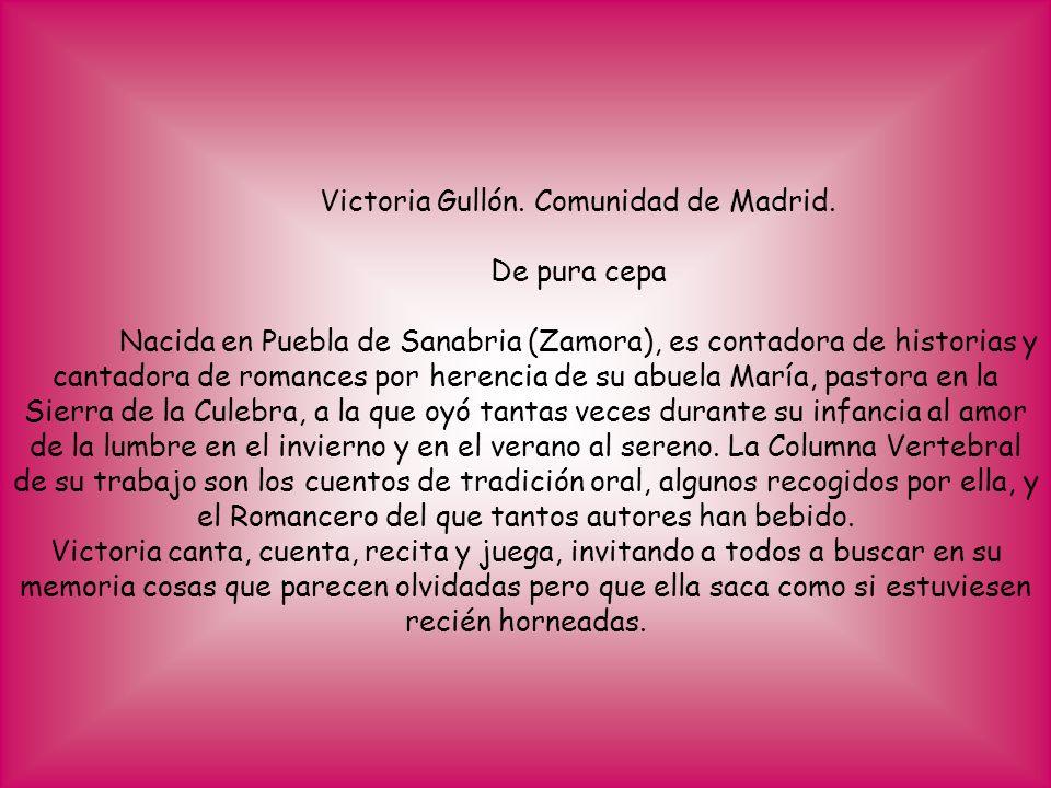 Victoria Gullón. Comunidad de Madrid.