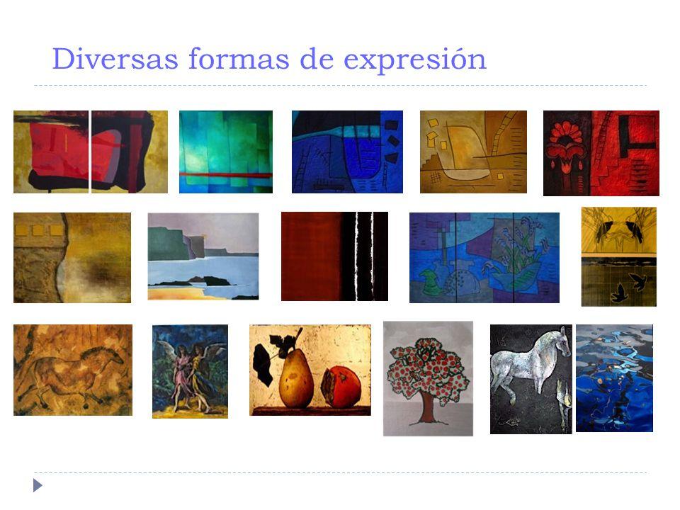 Diversas formas de expresión