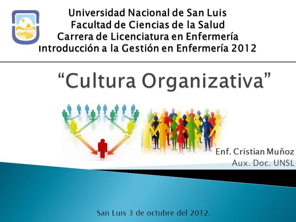 Cultura Organizativa