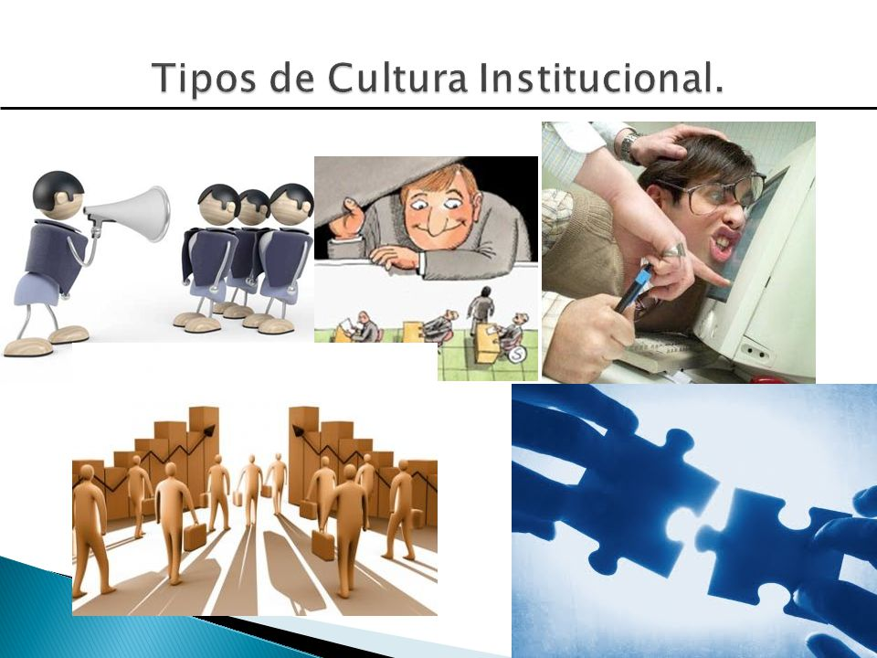 Tipos de Cultura Institucional.