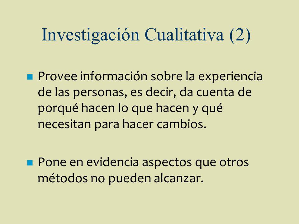 Investigación Cualitativa (2)