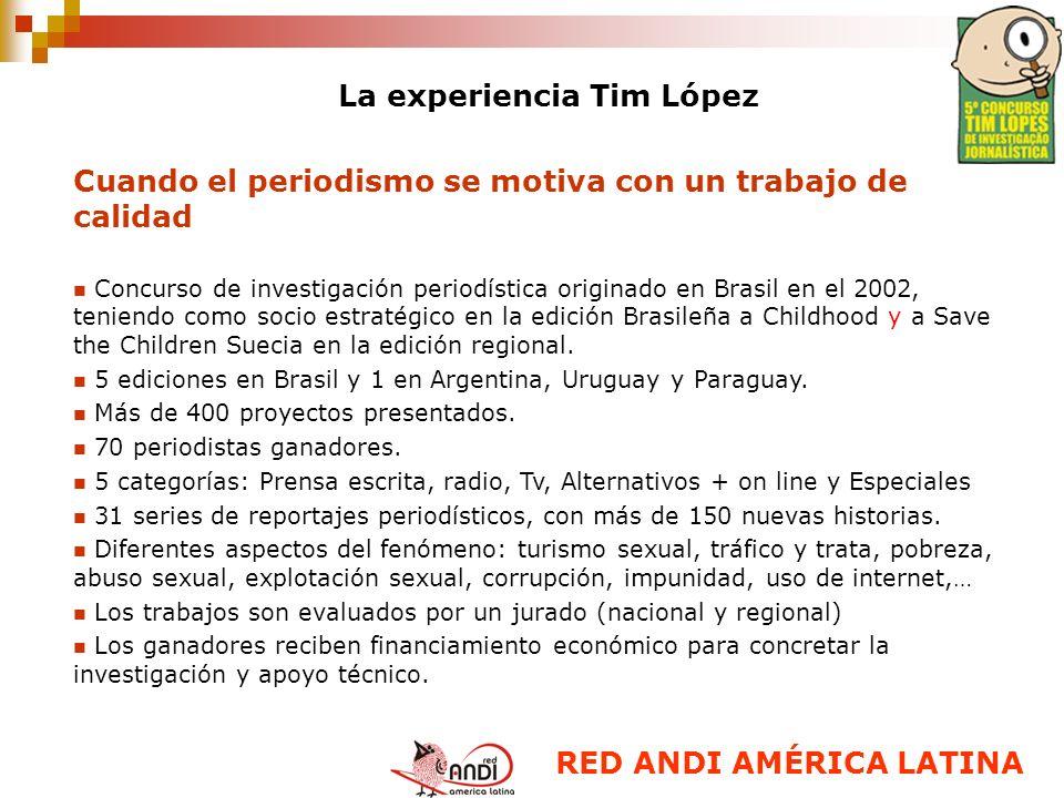 La experiencia Tim López