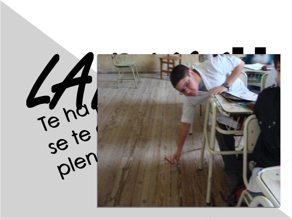 1 la LAPIMA!! Te ha pasado que se te cae un lápiz en pleno Dictado