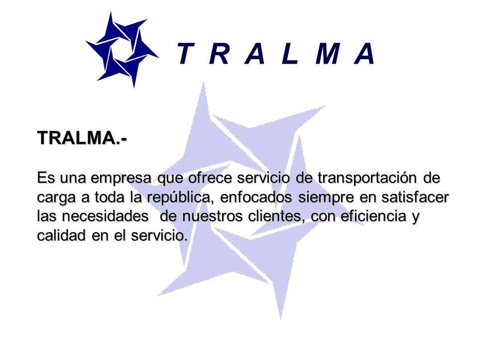 T R A L M A TRALMA.-