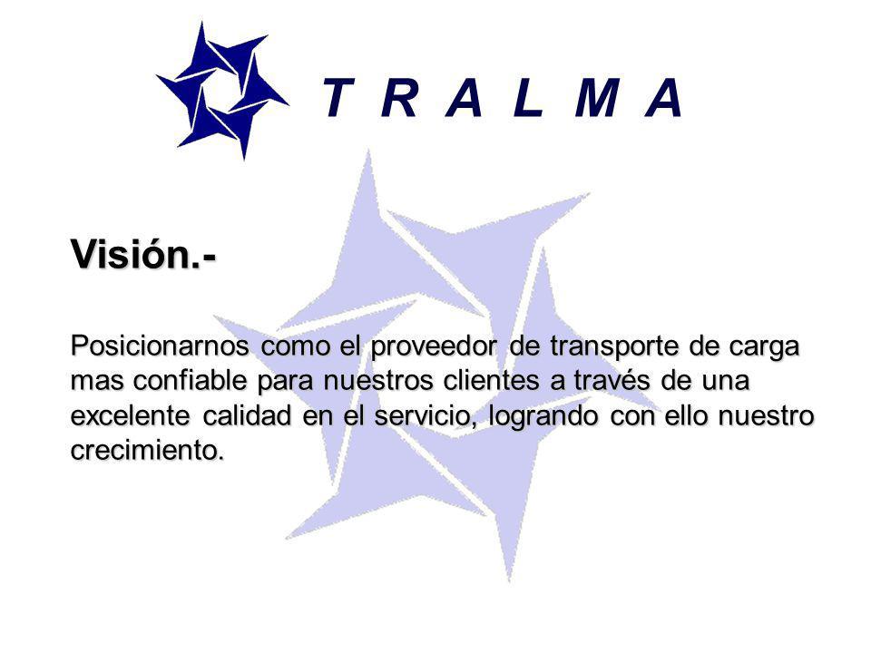 T R A L M A Visión.-