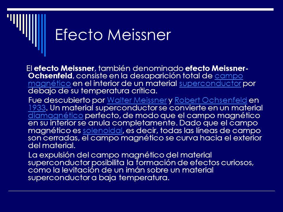 Efecto Meissner