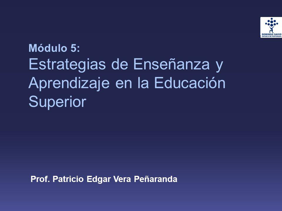 Prof. Patricio Edgar Vera Peñaranda