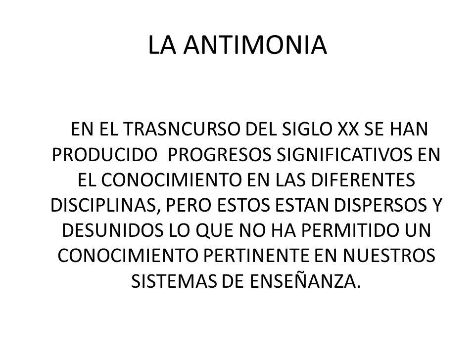 LA ANTIMONIA