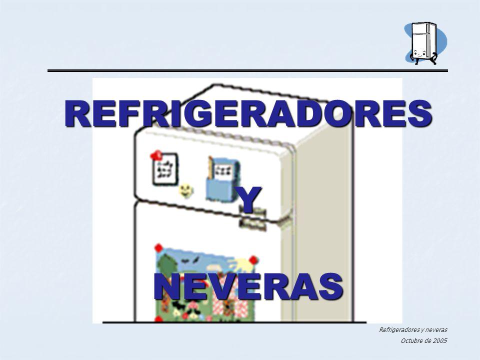 REFRIGERADORES Y NEVERAS