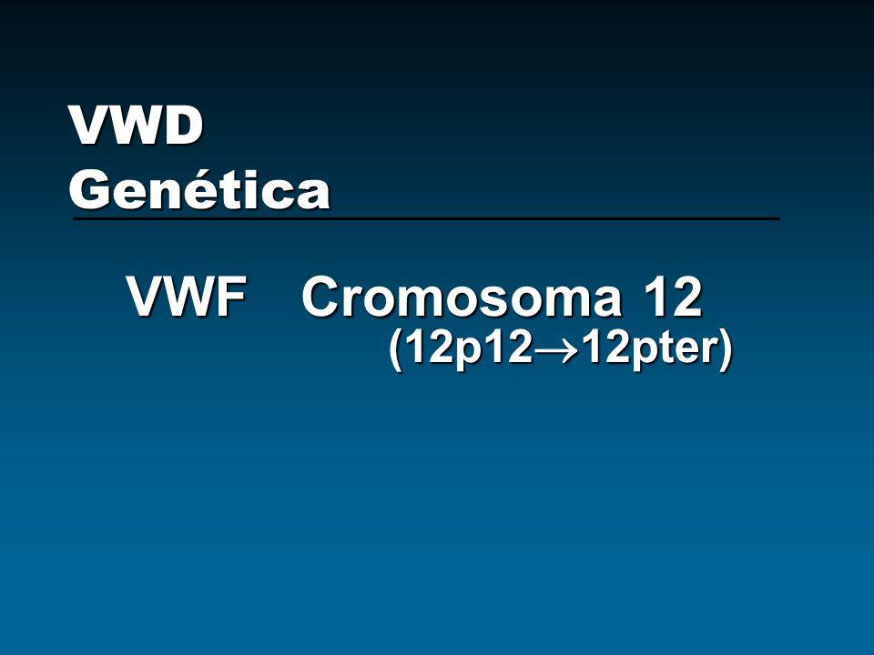 VWF Cromosoma 12 (12p1212pter)