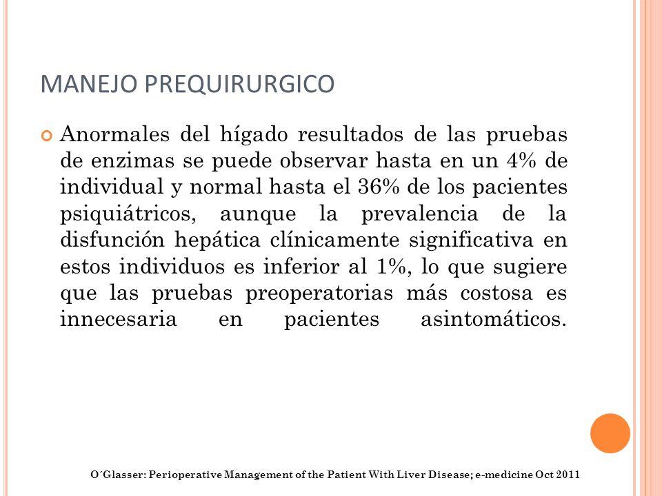 MANEJO PREQUIRURGICO