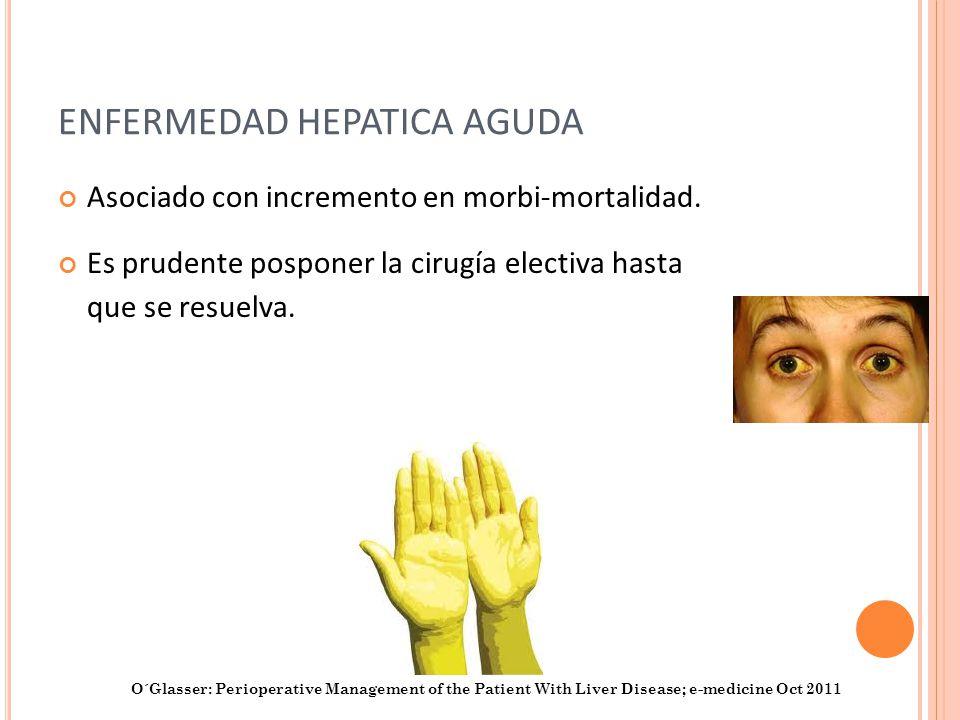 ENFERMEDAD HEPATICA AGUDA