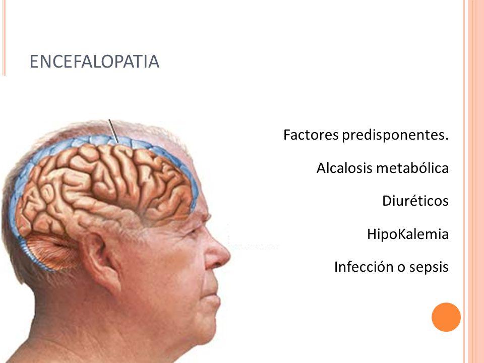 ENCEFALOPATIA Factores predisponentes.
