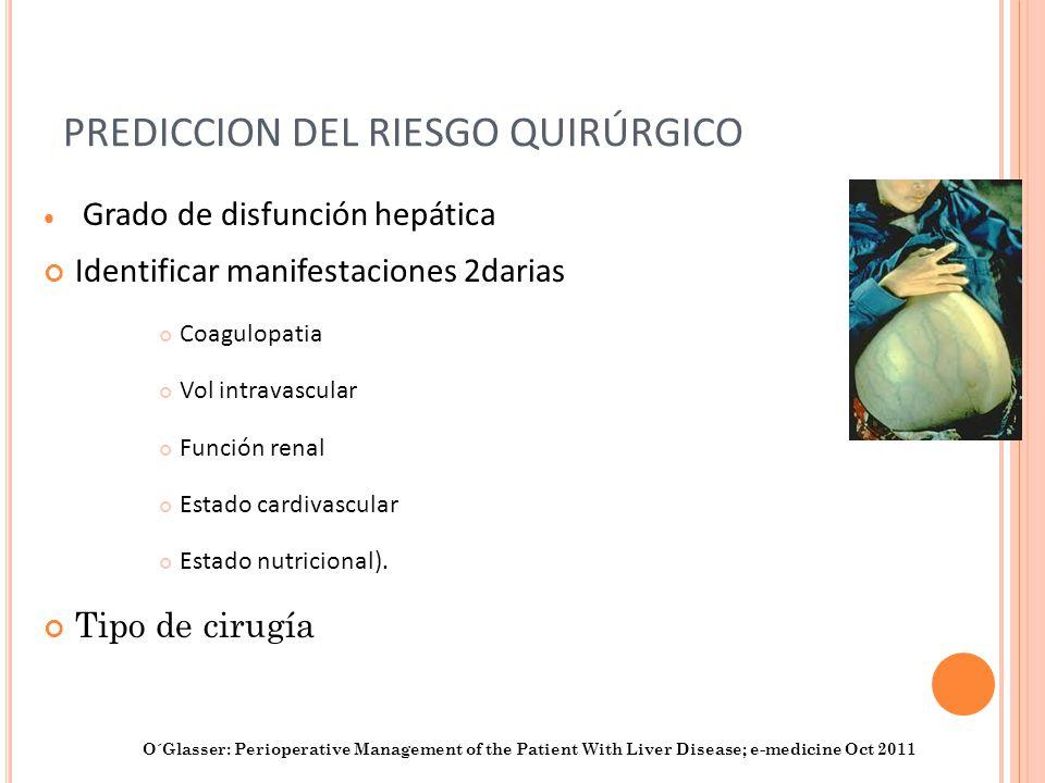 PREDICCION DEL RIESGO QUIRÚRGICO
