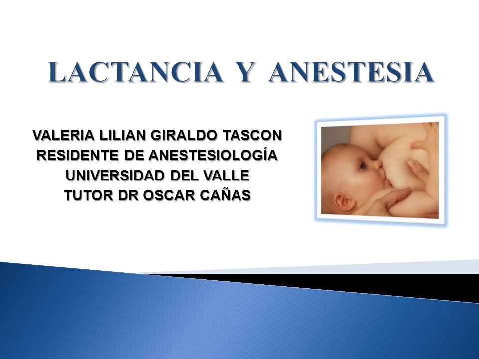 VALERIA LILIAN GIRALDO TASCON RESIDENTE DE ANESTESIOLOGÍA