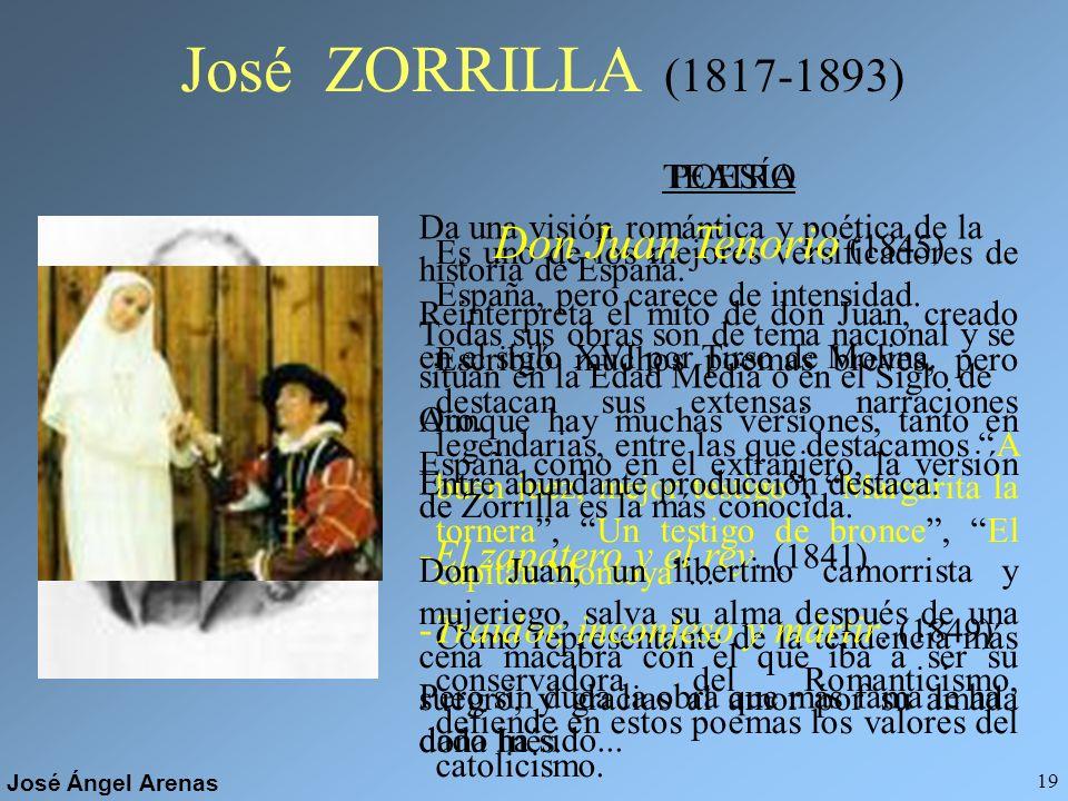 José ZORRILLA (1817-1893) Don Juan Tenorio (1845)