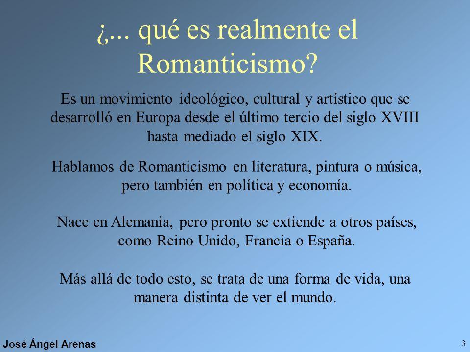 ¿... qué es realmente el Romanticismo