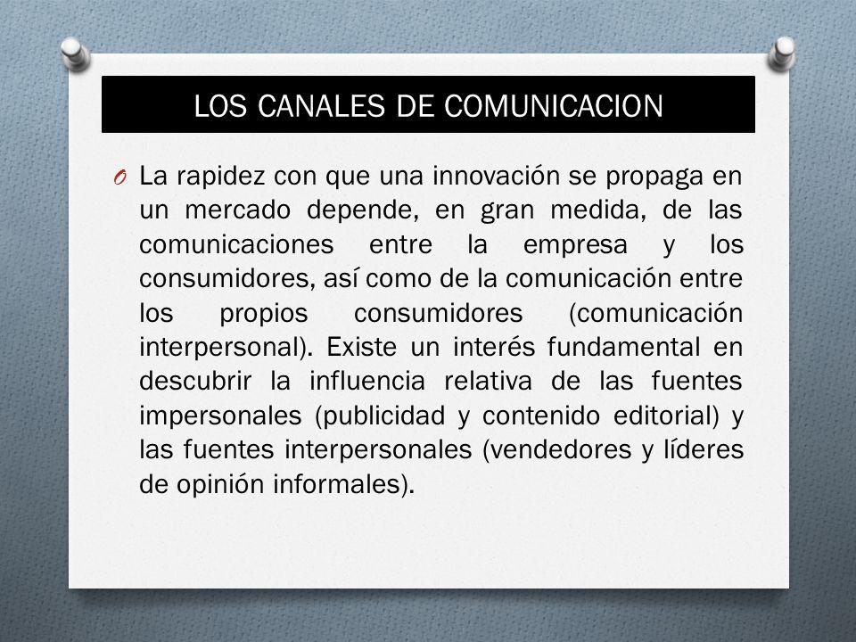 LOS CANALES DE COMUNICACION