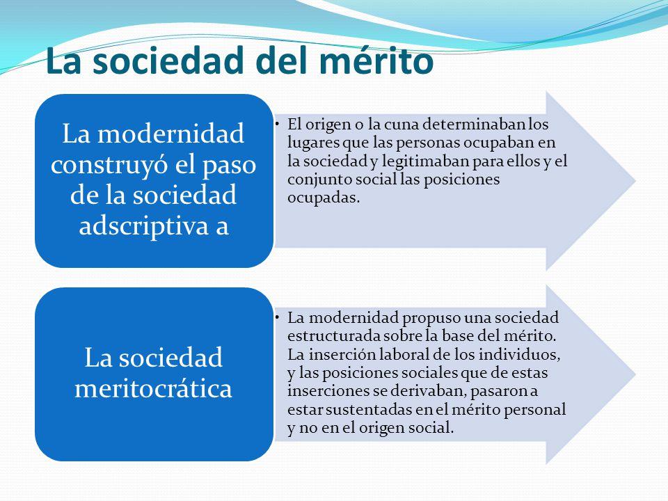La sociedad del mérito