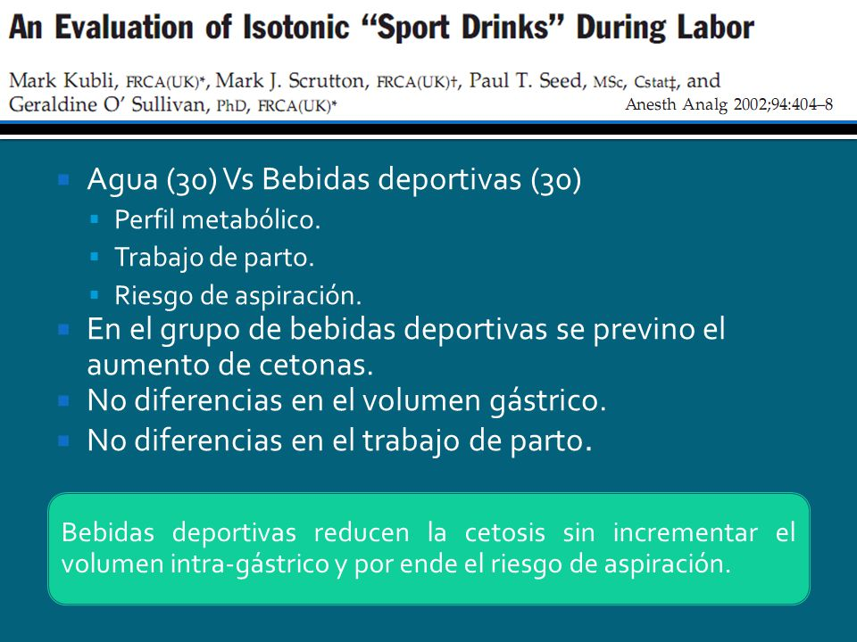 Agua (30) Vs Bebidas deportivas (30)