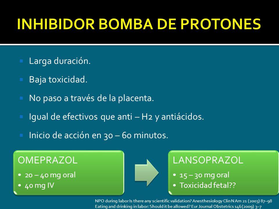 INHIBIDOR BOMBA DE PROTONES