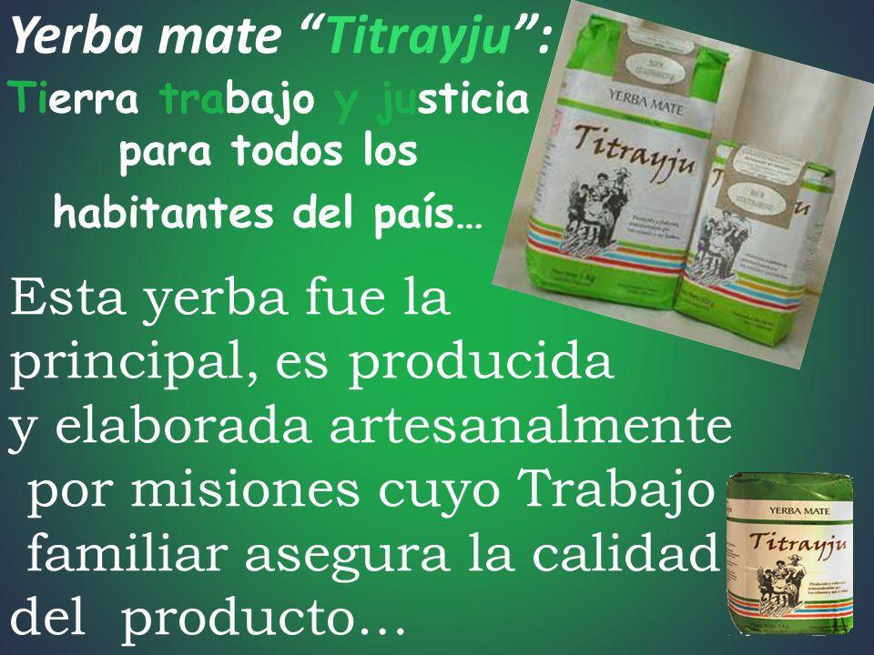 Yerba mate Titrayju :