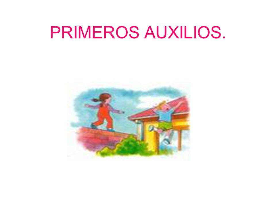 PRIMEROS AUXILIOS.