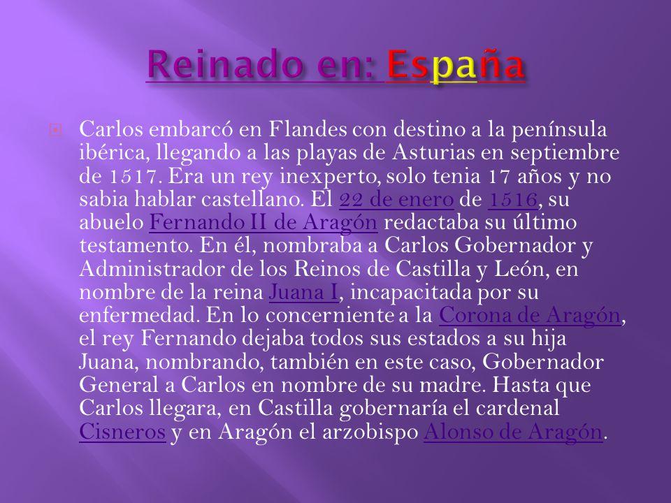 Reinado en: España