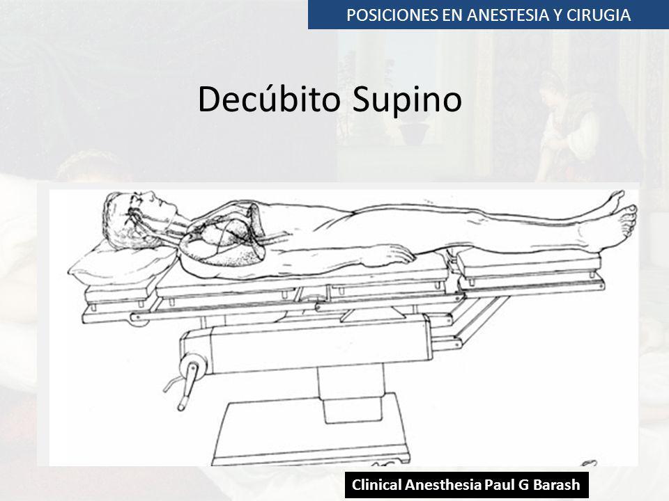 POSICIONES EN ANESTESIA Y CIRUGIA