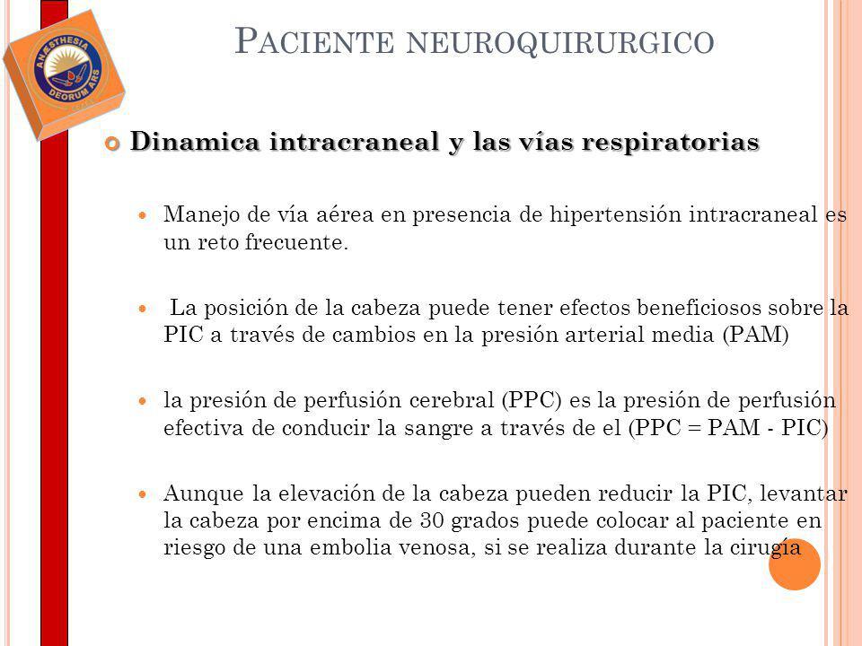 Paciente neuroquirurgico