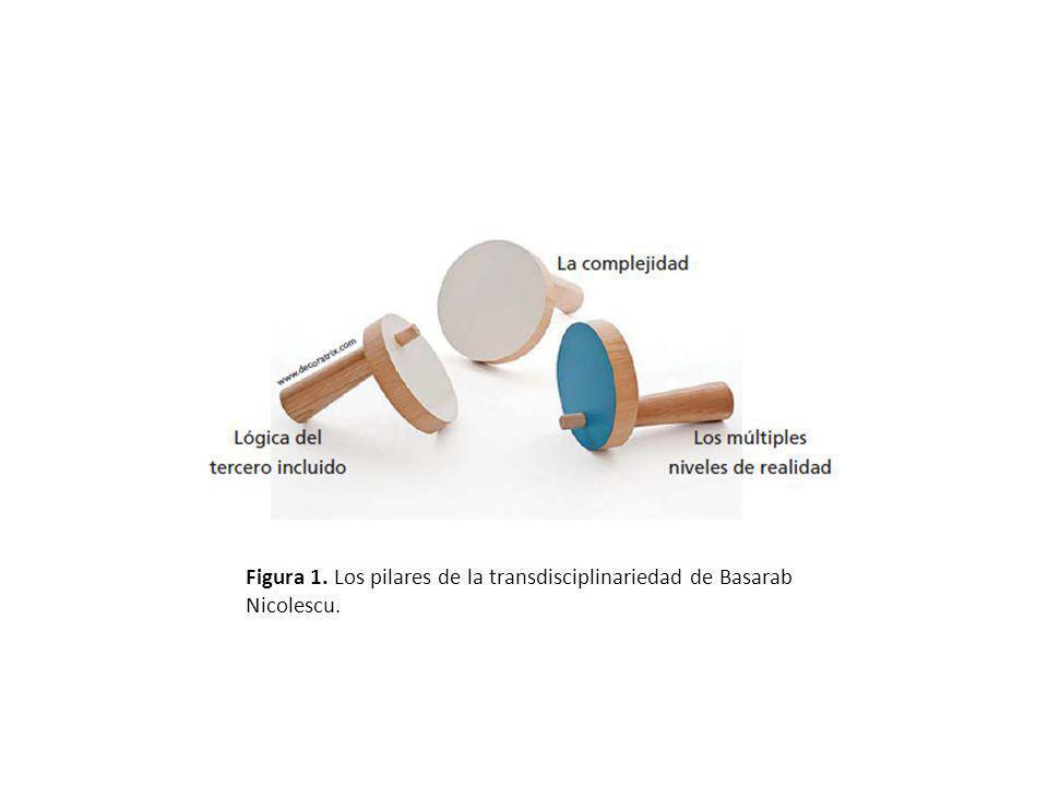 Figura 1. Los pilares de la transdisciplinariedad de Basarab Nicolescu.