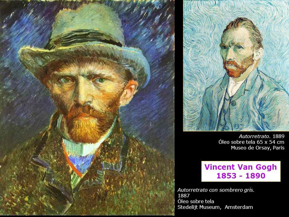 Vincent Van Gogh 1853 - 1890 Autorretrato. 1889