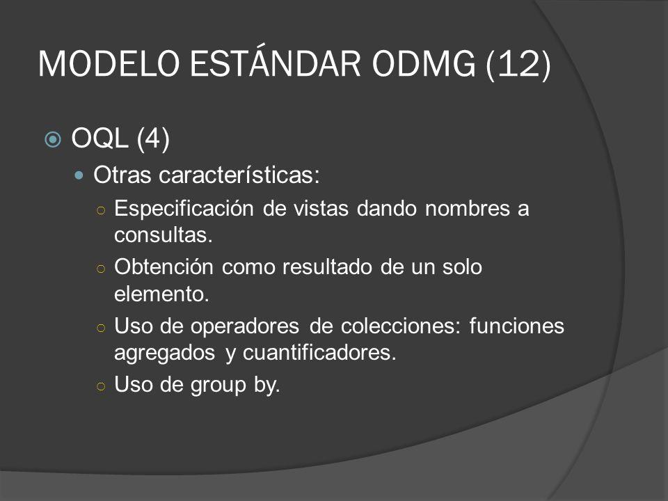 MODELO ESTÁNDAR ODMG (12)